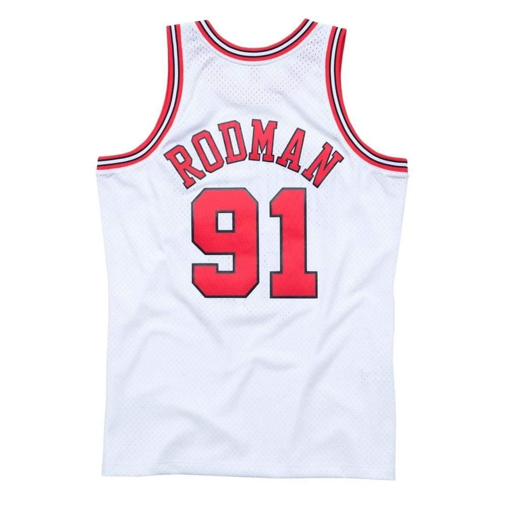 Dennis Rodman Chicago Bulls Hardwood Classics Throwback NBA Swingman Jersey